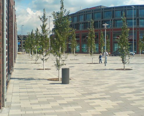 Bahnhofsvorplatz - Hamburg Bergedorf